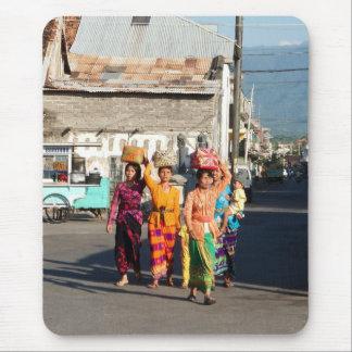 Balinese Women Mouse Pad