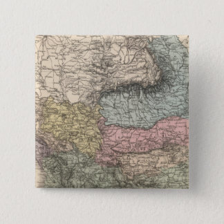 Balkan Peninsula 15 Cm Square Badge