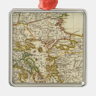 Balkan Peninsula 2 Christmas Ornament
