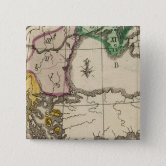 Balkan Peninsula 3 15 Cm Square Badge