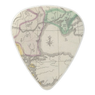 Balkan Peninsula 3 Acetal Guitar Pick