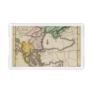 Balkan Peninsula 3 Acrylic Tray