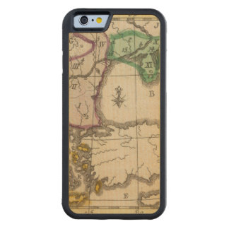 Balkan Peninsula 3 Carved Maple iPhone 6 Bumper Case