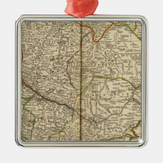 Balkan Peninsula 3 Christmas Ornament