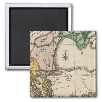 Balkan Peninsula 3 Magnet
