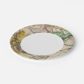 Balkan Peninsula 3 Paper Plate