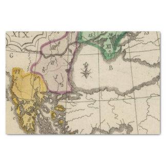 Balkan Peninsula 3 Tissue Paper