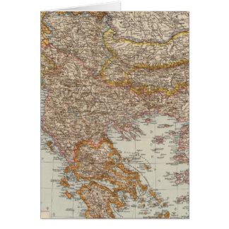 Balkan Peninsula 4 Card