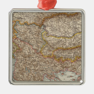 Balkan Peninsula 4 Christmas Ornament