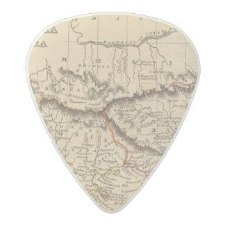 Balkan Peninsula 5 Acetal Guitar Pick
