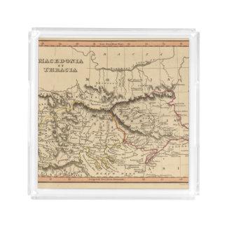 Balkan Peninsula 5 Acrylic Tray