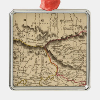 Balkan Peninsula 5 Christmas Ornament