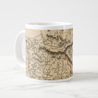 Balkan Peninsula 5 Large Coffee Mug