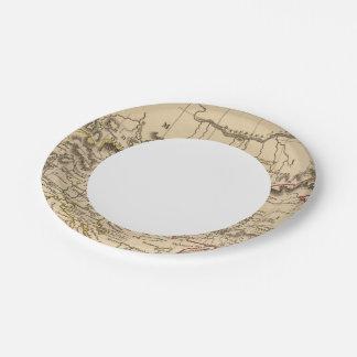 Balkan Peninsula 5 Paper Plate
