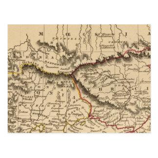 Balkan Peninsula 5 Postcard