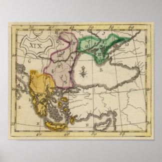 Balkan Peninsula 5 Poster