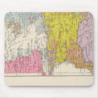 Balkan Peninsula  and Constantinople Map Mouse Mat