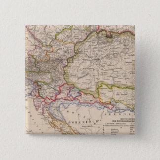 Balkan Peninsula, Austria, Hungary 15 Cm Square Badge