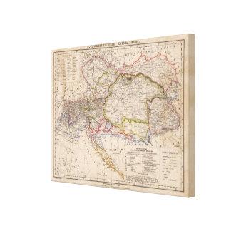 Balkan Peninsula, Austria, Hungary Canvas Print