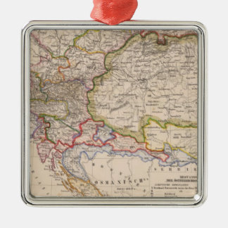 Balkan Peninsula, Austria, Hungary Christmas Ornament