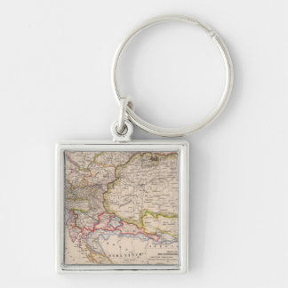 Balkan Peninsula, Austria, Hungary Key Ring