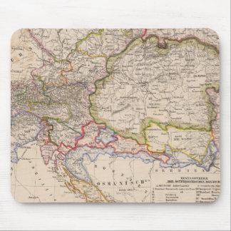 Balkan Peninsula, Austria, Hungary Mouse Mat