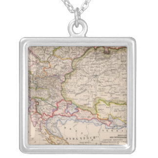 Balkan Peninsula, Austria, Hungary Silver Plated Necklace