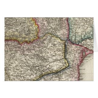 Balkan Peninsula, Bulgaria Card