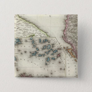 Balkan Peninsula, Greece 15 Cm Square Badge