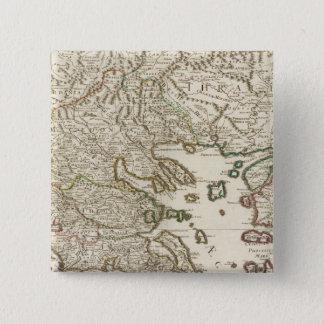 Balkan Peninsula, Greece, Macedonia 15 Cm Square Badge