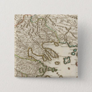 Balkan Peninsula, Greece, Macedonia 2 15 Cm Square Badge