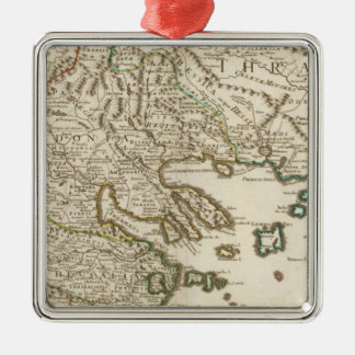 Balkan Peninsula, Greece, Macedonia 2 Christmas Ornament