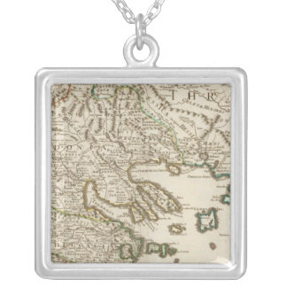 Balkan Peninsula, Greece, Macedonia 2 Silver Plated Necklace