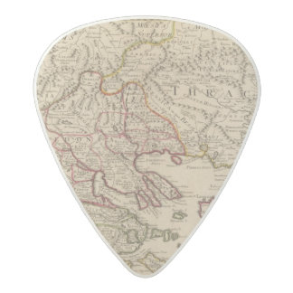 Balkan Peninsula, Greece, Macedonia 3 Acetal Guitar Pick