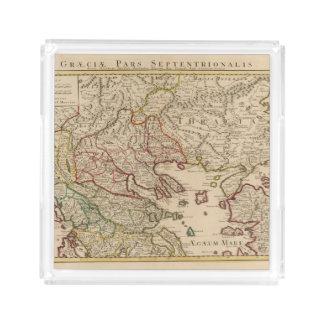 Balkan Peninsula, Greece, Macedonia 3 Acrylic Tray