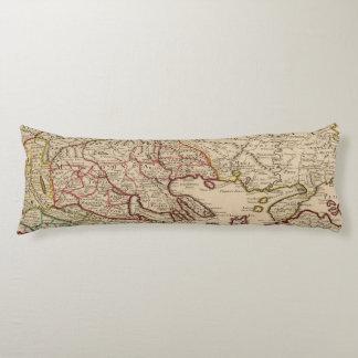 Balkan Peninsula, Greece, Macedonia 3 Body Cushion