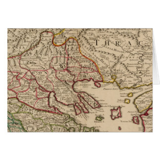 Balkan Peninsula, Greece, Macedonia 3 Card