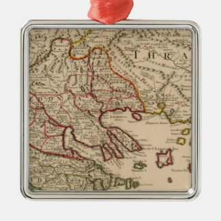 Balkan Peninsula, Greece, Macedonia 3 Christmas Ornament