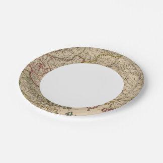 Balkan Peninsula, Greece, Macedonia 3 Paper Plate