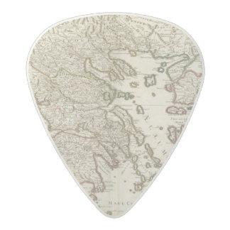 Balkan Peninsula, Greece, Macedonia Acetal Guitar Pick