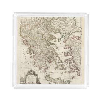 Balkan Peninsula, Greece, Macedonia Acrylic Tray
