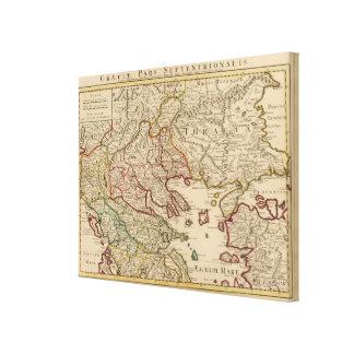 Balkan Peninsula, Greece, Macedonia Canvas Print