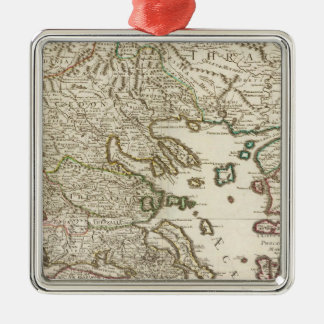Balkan Peninsula, Greece, Macedonia Christmas Ornament