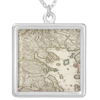 Balkan Peninsula, Greece, Macedonia Silver Plated Necklace