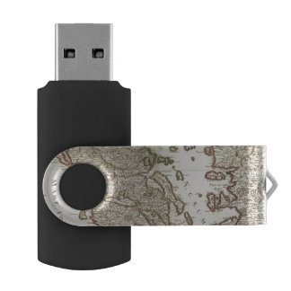 Balkan Peninsula, Greece, Macedonia USB Flash Drive