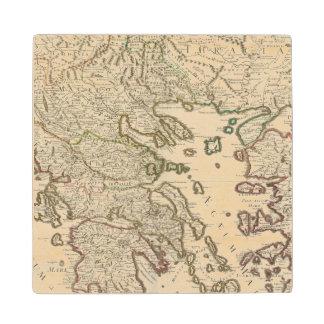 Balkan Peninsula, Greece, Macedonia Wood Coaster