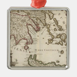 Balkan Peninsula, Greece, Turkey Christmas Ornament