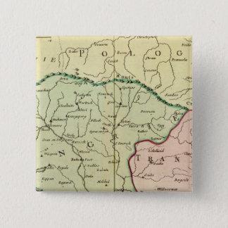 Balkan Peninsula, Hungary, Romania 2 15 Cm Square Badge
