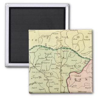 Balkan Peninsula, Hungary, Romania 2 Magnet