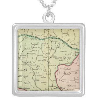 Balkan Peninsula, Hungary, Romania 2 Silver Plated Necklace